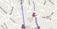 Ruta desde la Giralda a la Plaza de San Francisco