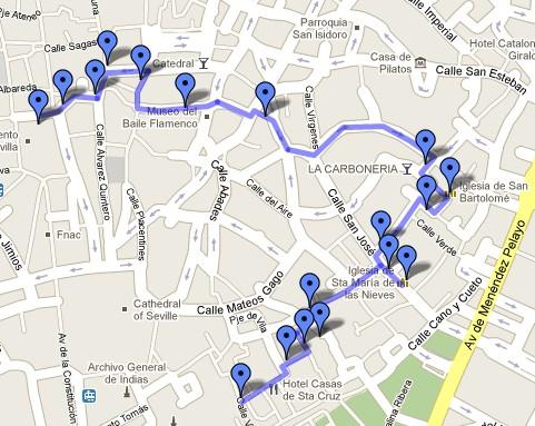Ruta por el Barrio de San Bartolomé hasta la Plaza de San Francisco