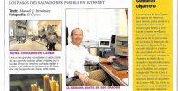 Articulo de Sevillaen360 en el Correo de Andalucia