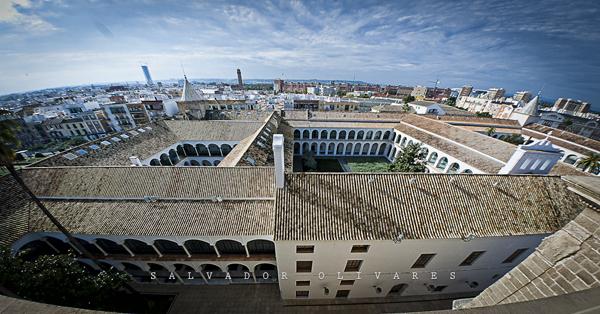 Vistas tejado Parlamento de Andalucia